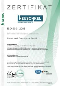 Zertifikat ISO 9001_2008