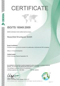 Zertifikat ISO_TS16949